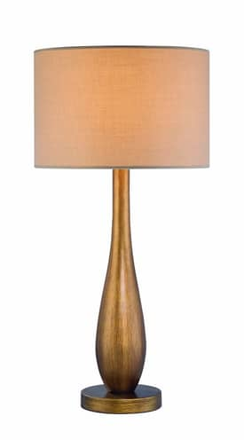 Lite Source Inc. Guld Guld LS-21600 Table Lamp in Aged Gold Finish Lighting