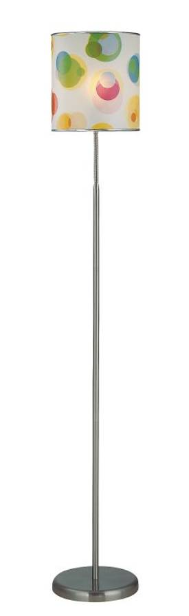 Lite Source Inc. Levendig Levendig LS-81272 Floor Lamp in Polished Steel Finish Lighting