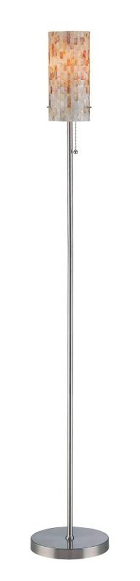 Lite Source Inc. Schale Schale LS-81381 Floor Lamp in Polished Steel Finish Lighting
