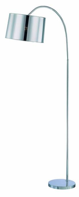 Lite Source Inc. Lochellen Lochellen LS-81530C Floor Lamp in Chrome Finish Lighting