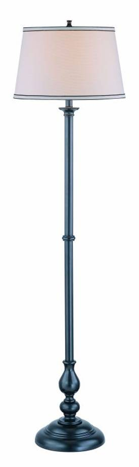 Lite Source Inc. Blaise Blaise LS-81577 Floor Lamp in Black Lighting