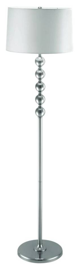 Lite Source Inc. Wit Wit Floor Lamp In Steel Finish Lighting