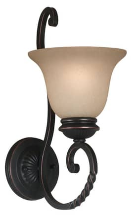 Kenroy Home Oliver Oliver Sconce with Oil Rubbed Bronze Finish Lighting