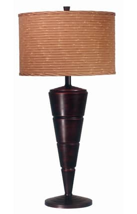 Kenroy Home MP2 Accolade 2 Pack Table Lamp in Oil Rubbed Bronze Finish Lighting