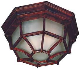 Kenroy Home Dural Dural Flush Mount in Rust Finish Lighting