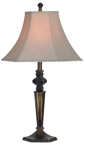Kenroy Home Georgetown Georgetown Table Lamp with Bronze Finish Lighting