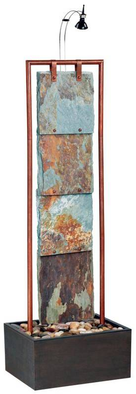 Kenroy Home Montpelier Montpelier Floor Fountain in Copper Finish Lighting