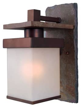 Kenroy Home Boulder Boulder Small Wall Lantern In Copper Finish Lighting