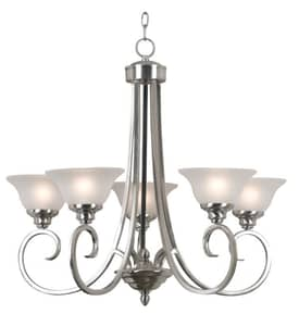 Kenroy Home Welles Welles Chandelier with Oil Rubbed Bronze Finish Lighting
