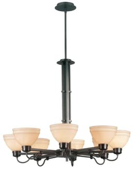 Kenroy Home Odyssey Odyssey Chandelier with 8 Lights With Bronze Finish Lighting
