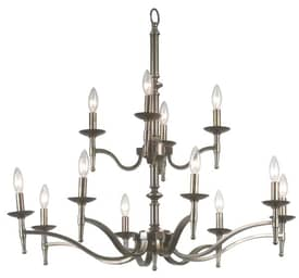 Kenroy Home Hastings Hastings Chandelier with 12 Lights With Brass Finish Lighting