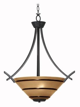 Kenroy Home Wright Wright Pendant Light with Bronze Finish Lighting