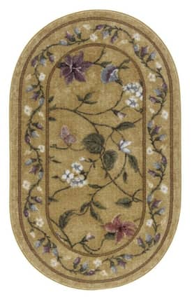Brumlow Home Printed Accents Butterfly Rug