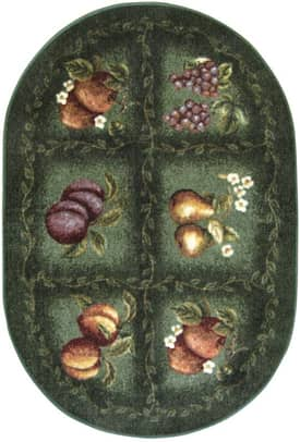 Brumlow Home Printed Accents Fruited Fields Rug