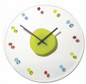 Nextime Simple Times Marble Wall Clock