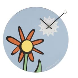 Nextime Playing Time Sunflower Wall Clock