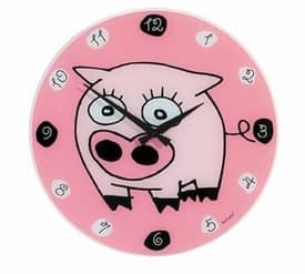 Nextime Fun Clocks Silvio Wall Clock