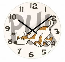 Nextime Fun Clocks Puk Wall Clock