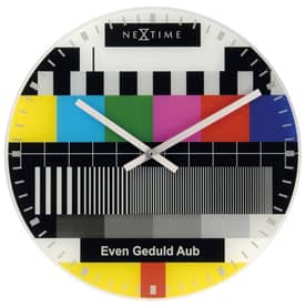 Nextime Color & Design Clocks Testpage Wall Clock