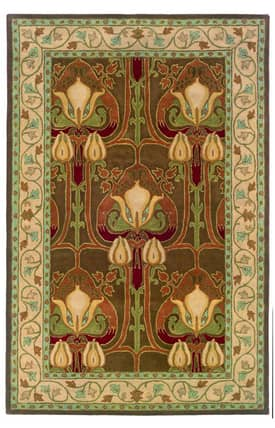 L.R. Resources Inc. Arts and Crafts LR41206 Rug