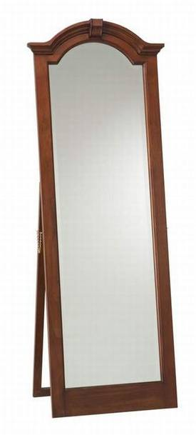 Cooper Classics Wood Traditional Cheval Arched Mirror
