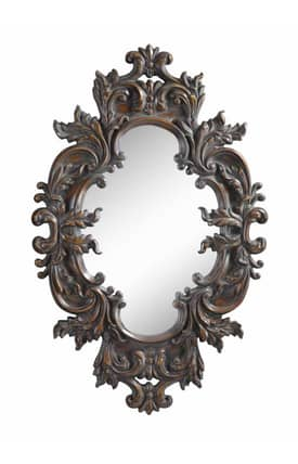 Cooper Classics Traditional Helena Oval Mirror