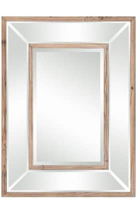 Cooper Classics Wood Odessa Rectangle Mirror