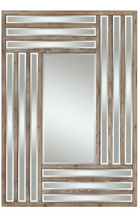 Cooper Classics Wood Shelby Rectangle Mirror