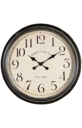 Cooper Classics Wall Clocks Whitley Wall Clock