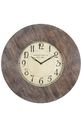 Cooper Classics Wall Clocks Williston Wall Clock