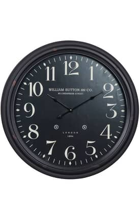 Cooper Classics Wall Clocks Norton Wall Clock