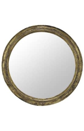 Cooper Classics Wood Belmar Rectangle Mirror
