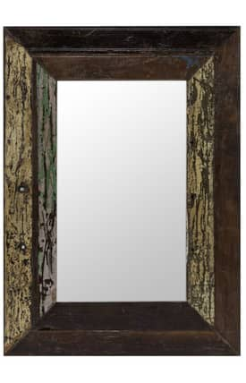 Cooper Classics Wood Langley Rectangle Mirror