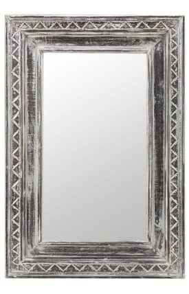 Cooper Classics Wood Holley Rectangle Mirror
