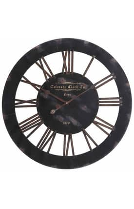Cooper Classics Wall Clocks Elko Wall Clock
