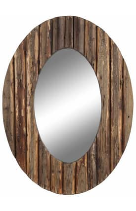 Cooper Classics Casual Loveland Oval Mirror