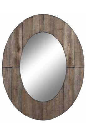 Cooper Classics Casual Mammoth Oval Mirror