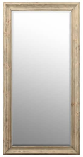 Cooper Classics Wood Baker Rectangle Mirror