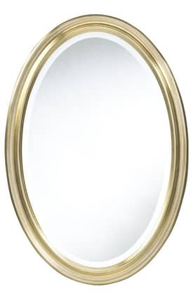 Cooper Classics Contemporary Blake Oval Wall Mirror