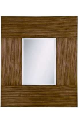 Cooper Classics Wood Rollins Rectangle Mirror