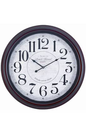 Cooper Classics Wall Clocks Calhoun Wall Clock