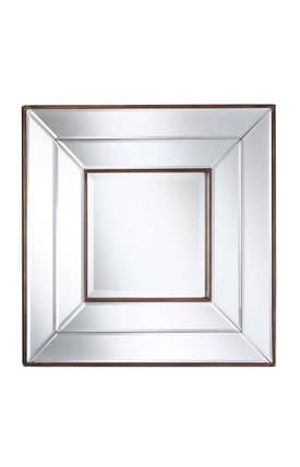 Cooper Classics Contemporary Clarence Wall Mirror