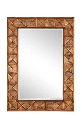 Cooper Classics Wood Brayden Rectangle Mirror
