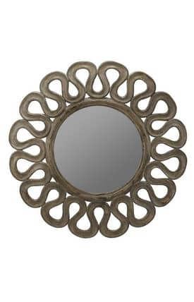 Cooper Classics Ornate Norfolk Round Mirror