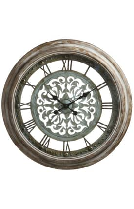 Cooper Classics Wall Clocks Claudia Wall Clock