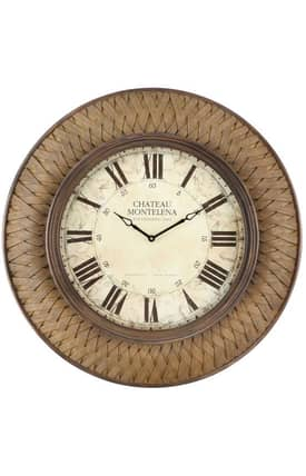 Cooper Classics Wall Clocks Garrett Wall Clock