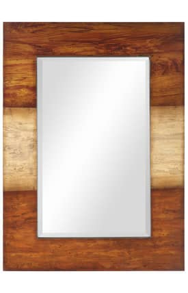 Cooper Classics Wood Julian Rectangle Mirror