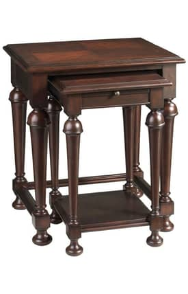 Cooper Classics Tables Marcella Traditional Nesting Tables Furniture