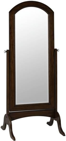Cooper Classics Casual Laurel Cheval Arch Mirror