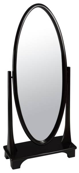 Cooper Classics Casual Oxford Cheval Oval Mirror